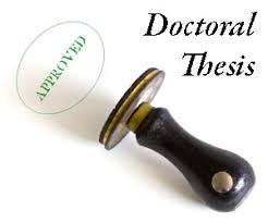 doctoral dissertation topic ideas